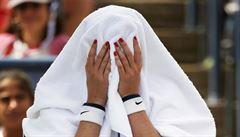 Kvitová na US Open končí, nestačila na kvalifikantku Kruničovou