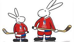 Snažím se živit dílo Vladimíra Jiránka, říká autor hokejových králíků
