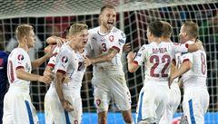 Čeští fotbalisté si v žebříčku FIFA polepšili do třetí desítky