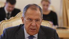 Rusko-americké vztahy ovládl chlad. Dotkli jsme se dna, tvrdí Lavrov