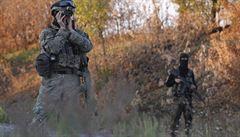 I přes příměří dopadají na Doněck stále dělostřelecké granáty