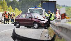 Tragická nehoda na několik hodin zablokovala D5, teď je již průjezdná