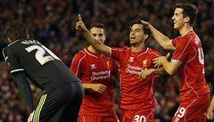 Třicátá penalta rozhodla. Liverpool v poháru zvládl infarktový rozstřel