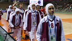 Musíte hrát bez hidžábu, slyšely Katařanky. Proto z turnaje odstoupily