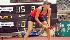 Vaidišová v Las Vegas dohrála ve čtvrtfinále