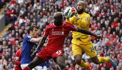 Derby v Londýně i Liverpoolu skončila remízou, Courtois vychytal nulu