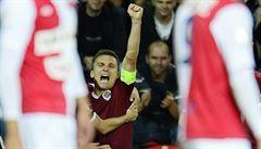 Slavia pálila šance, Lafata trestal. Fotbalové derby ovládla Sparta