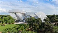Svalnaté a delikátní, takové je nové muzeum Franka Gehryho v Paříži
