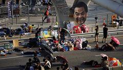 Hongkongští demonstranti dali vládě ultimátum: Máte čas do středy