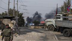 V Doněcku vybuchují granáty a miny, boje se rozhořely i u Luhanska