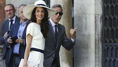 Svatba Clooneyho a Alamuddinové stála téměř 300 milionů korun