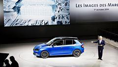 Na prestižním pařížském autosalonu se představí i nová Škoda Fabia