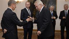 O Zemanovu oslavu je zájem, dodatečně přijme desítky gratulantů