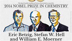 Nobelovu cenu za chemii si odnesli tvůrci fluorescenčního mikroskopu