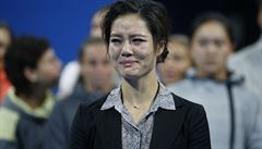 Dojemné loučení s Li Na. Budeš nám chybět, řekla v slzách Kvitová