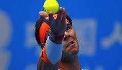 Nadal kritizuje výběr míčů na turnaji v Pekingu: Odskakují všude možně
