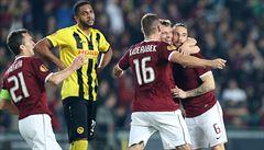 Sparta v Evropské lize porazila Young Boys 3:1, dvakrát se trefil Lafata
