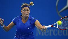 Kvitová bude v Pekingu bojovat o titul, do finále prošel i Berdych
