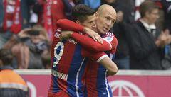 V bundeslize se dařilo Drobnému i Daridovi, Bayern znovu vyhrál