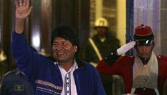Evo Morales se stal prezidentem Bolívie. Již potřetí a v prvním kole