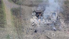 Muniční sklad na Zlínsku je stále nebezpečný, ozývají se další výbuchy