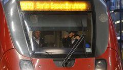 Stávka na německé železnici skončila dříve. Oficiálně kvůli oslavám