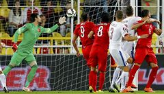 Dal gól, ale neslavil. Sivok ukázal v Turecku neobvyklé gesto