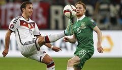 Německo v kvalifikaci jen remizovalo, duel Srbska s Albánií se nedohrál
