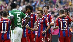Bayern smetl Brémy, Mönchengladbach poskočil na druhé místo