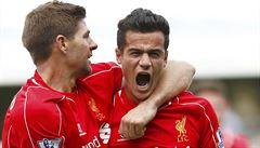 Čtyři branky za osm minut. Liverpool po divokém závěru zdolal QPR