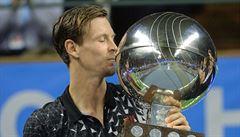 Berdych zvládl finále ve Stockholmu a získal desátý titul v kariéře