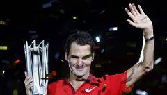 Dva tie-breaky a Federer slaví na Masters v Šanghaji 81. titul