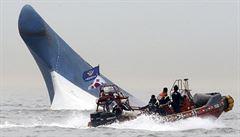 Kapitán opustil potápějící se loď, Jihokorejci pro něj chtějí trest smrti