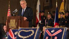 Dokument: projev prezidenta republiky během udílení státních vyznamenání