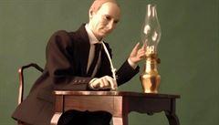 Putin jako loutka: za zvuku valčíku podepisuje anexi Krymu