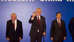 Česko bude požadovat zrušení víz pro Čínu, uvedl Zeman v Pekingu