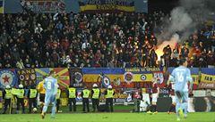 Podivný trest. Za násilí na Slovanu podmíněně uzavřeli stadion Spartě
