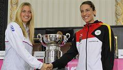 Finále Fed Cupu zahájí Kvitová s Petkovicovou, Plíšková nenastoupí