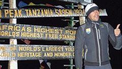 Kreuziger a spol. pokořili Kilimandžáro. První na vrcholu byl Contador