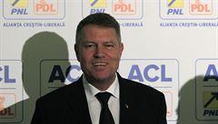 První kolo rumunských prezidentských voleb pravděpodobně vyhrál obhájce Klaus Iohannis