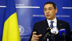 Rumuni vybírají prezidenta. V prvním kole zvítězil premiér Ponta
