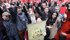 Chtěl jsem ukázat, že nejsme národ Zemanů, říká organizátor demonstrace