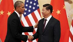 Vítám mírumilovnou, prosperující Čínu, řekl Obama v Pekingu
