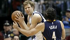 Němec Nowitzki zdolal v NBA neamerický rekord. Velká pocta, řekl