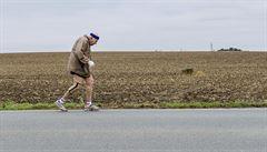 Nejstarší český maratonec. 87letý běžec se občerstvoval pivem