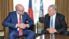 Česká vláda v Jeruzalémě podpořila vznik nezávislé Palestiny