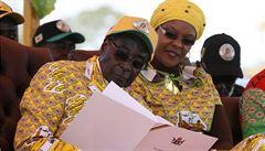Maso ze lvů i slonů. Když zimbabwský prezident chystá oslavu narozenin