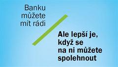 Mít rád banku nestačí. Spořitelna si utahuje z kampaně Air Bank
