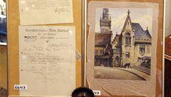 V Německu vydražili Hitlerův akvarel, předčil očekávání