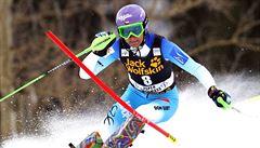 Slalom v Aspenu: Dubovská zajela životní závod, Strachová šestá